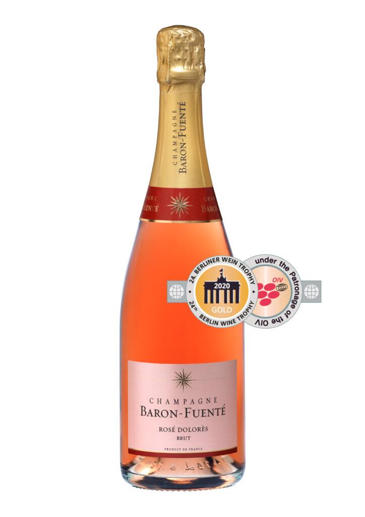 Rosé Dolorès cuvee - Berliner Wein trophy - Gold Medal
