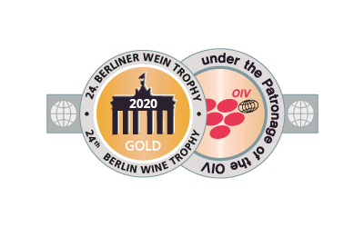 Médaille d'Or Berliner Wein Trophy 2020